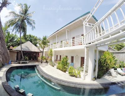 Dua Malam di Gili Amor Boutique Resort, Gili Trawangan Lombok