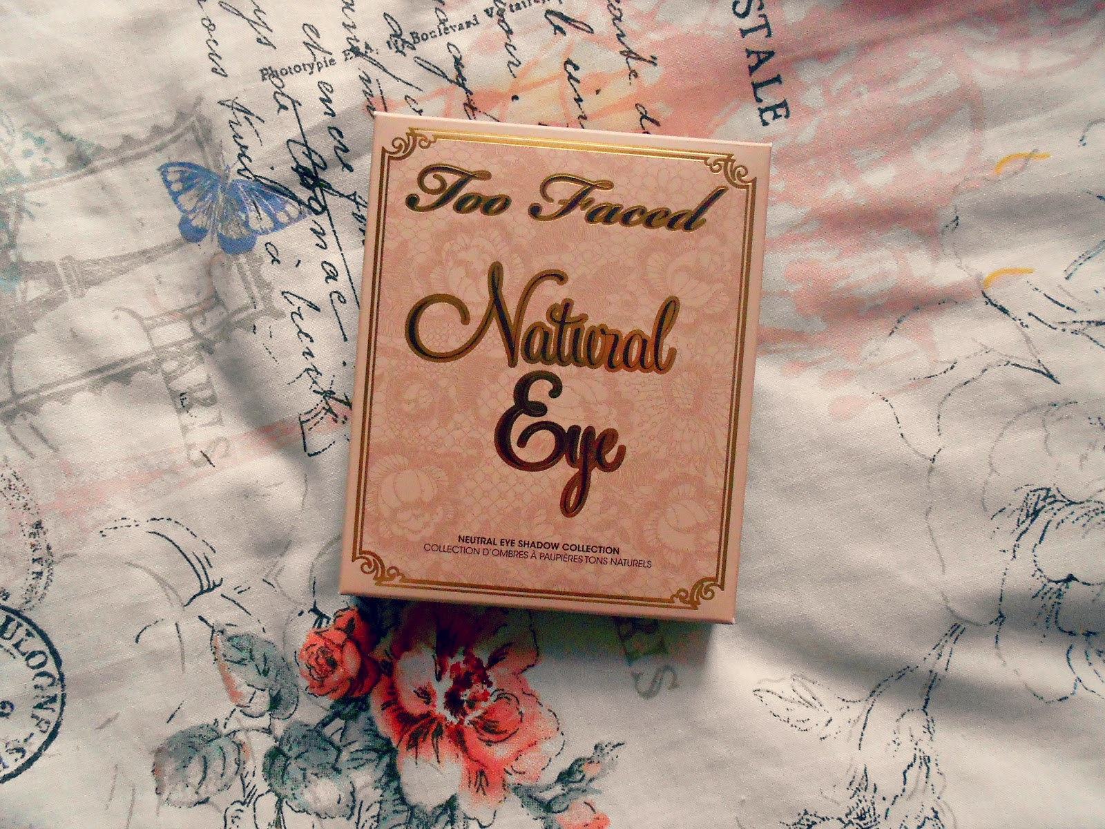 Too Faced Natural Eye Palette Review