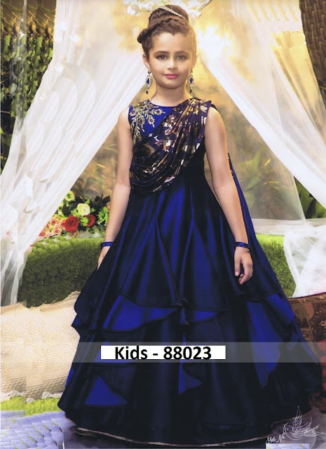 Buy 2019 latest kids wear gown wholesale Price