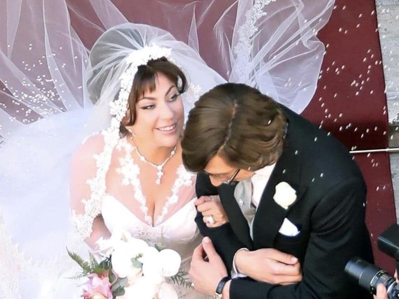 Леди Гага и Адам Драйвер: свадебная церемония для фильма «Дом Гуччи»