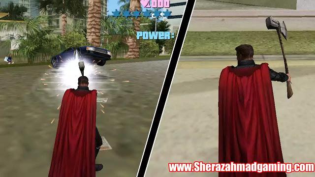 GTA Vice City Thor Infinity War Mod Download