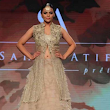 Latest Suit Shaan Sahar Latif Bridal Show 2015