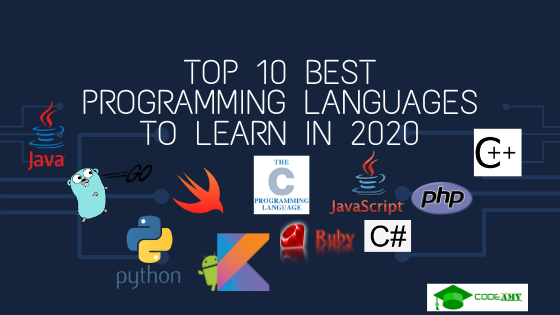 Top 10 Programming Languages to Learn in 2020
