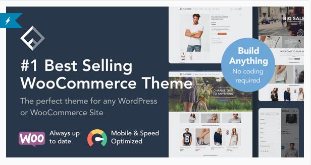 Flatsome | 15+ Best Multipurpose WooCommerce WordPress Themes