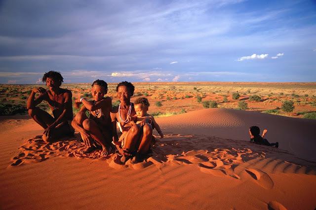The plight of the Kalahari San