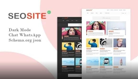 Seosite v1.2 (Premium) SEO Friendly Responsive Blogger
