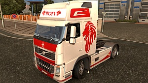 Red Lion skin for Volvo 2009