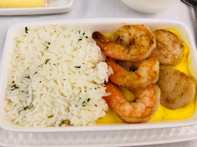 Iberia Business Class A330 Food