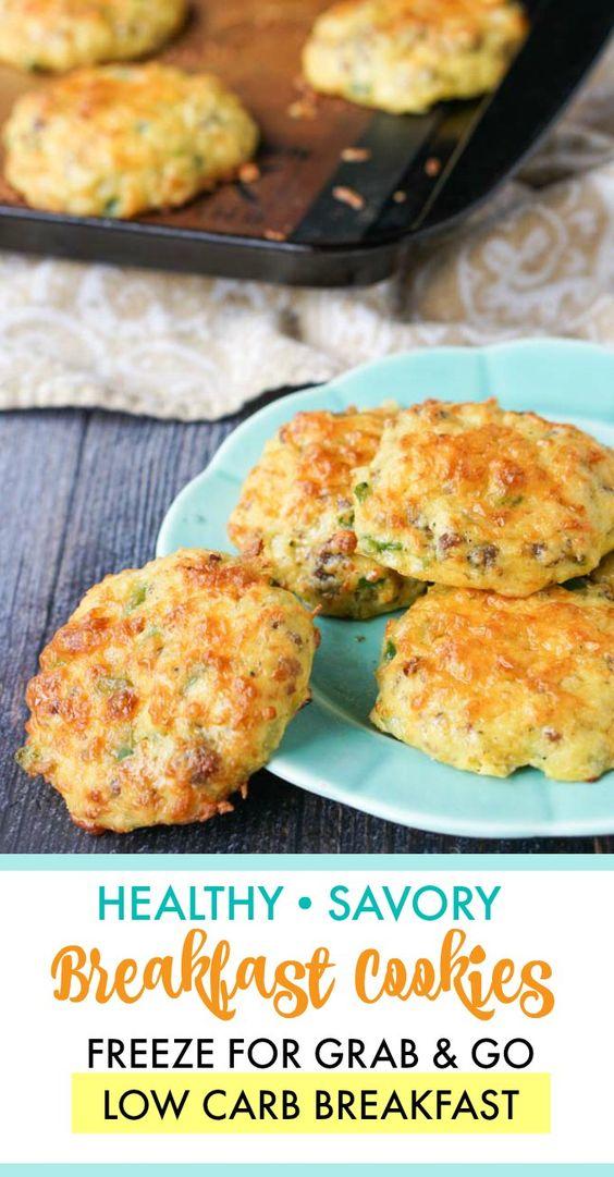 Healthy Savory Breakfast Cookies Recipe