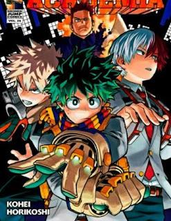 manga boku no hero academia, my hero academia, Katsuki Bakugo, Izuku Midoriya, Shoto Todoroki, Ochaco Uraraka (Uravity), Tenya Iida (Ingenium), Momo Yaoyorozu, Tokoyami