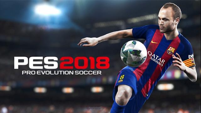 قم بتنزيل PES 2018 Pro Evolution Soccer لنظام Android