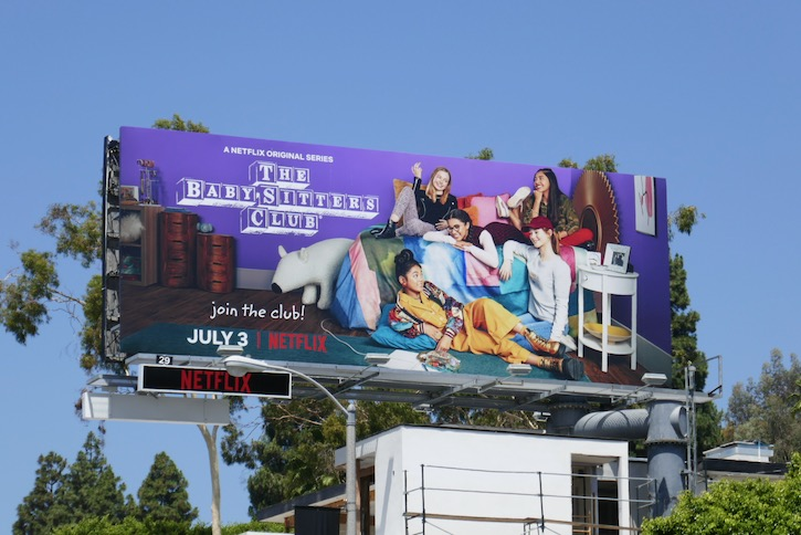 Babysitters Club Netflix remake billboard