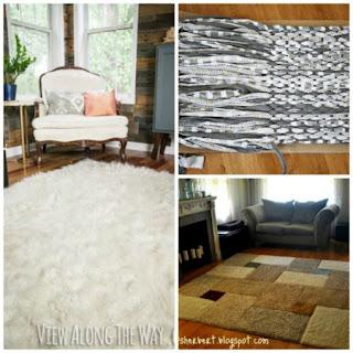 5 DIY Area Rug Ideas