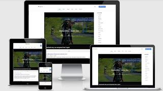 download template blogblez mirip google