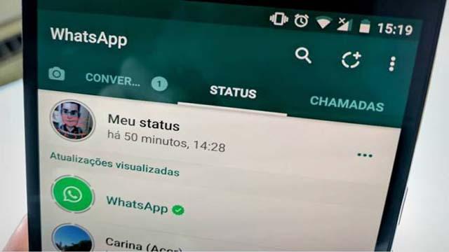 Membagikan status WA ke aplikasi lain - Fitur Baru WhatsApp Messenger yang masih dalam tahap beta