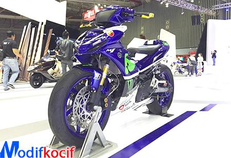 Gambar Modifikasi Yamaha Jupiter Mx King Movistar 2017