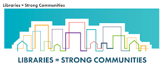 Libraries = strong communities image