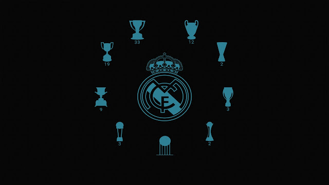 Real Madrid Start Screen PES 2018 and 2017 FC by Author Last Fiddler