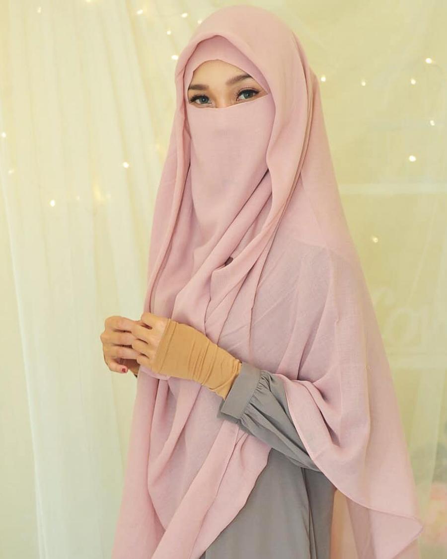 Cewek Cantik cadar dalam islam