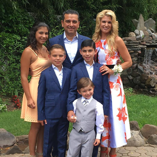 When Did Cake Boss Have His  Kids