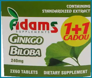 Ginkgo Biloba Adams Supplements păreri forumuri beneficii contraindicatii