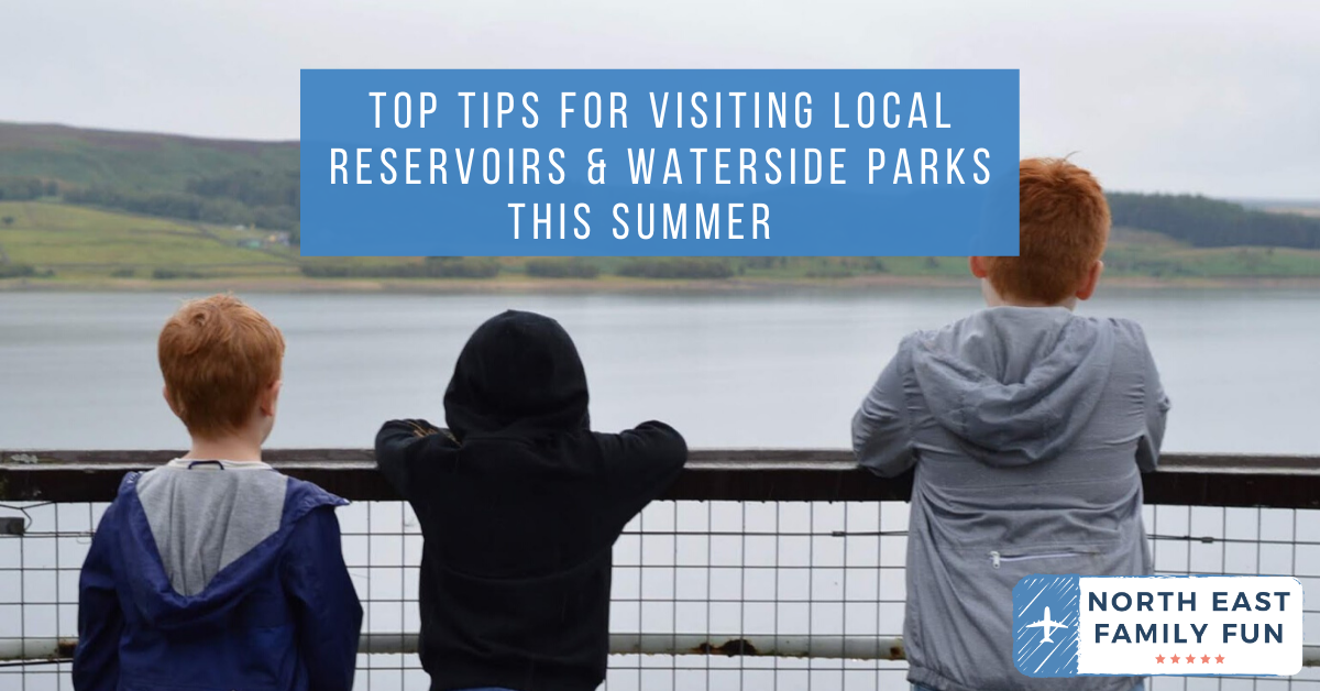 Top Tips for Visiting Local Reservoirs & Waterside Parks this Summer