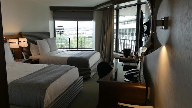 Zimmer im Watergate-Hotel in Washington D.C.