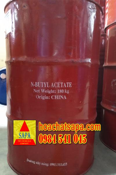 Dung Môi BAC - Butyl Acetate Dùng Trong Ngành Sơn, Thực Phẩm