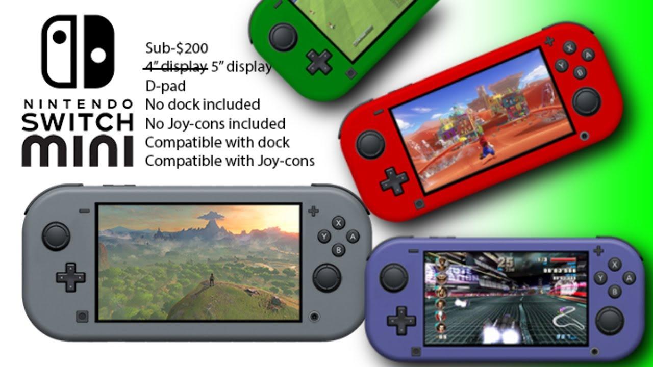 Modelo Nuevo De Nintendo Switch Para Ninos