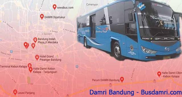 Damri Bandung Jakarta, Ini Info Yang Harus Diketahui