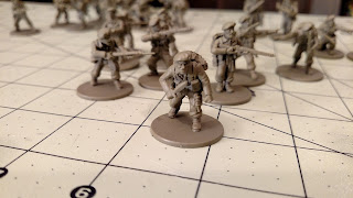 Bolt Action British Commandos Assembled