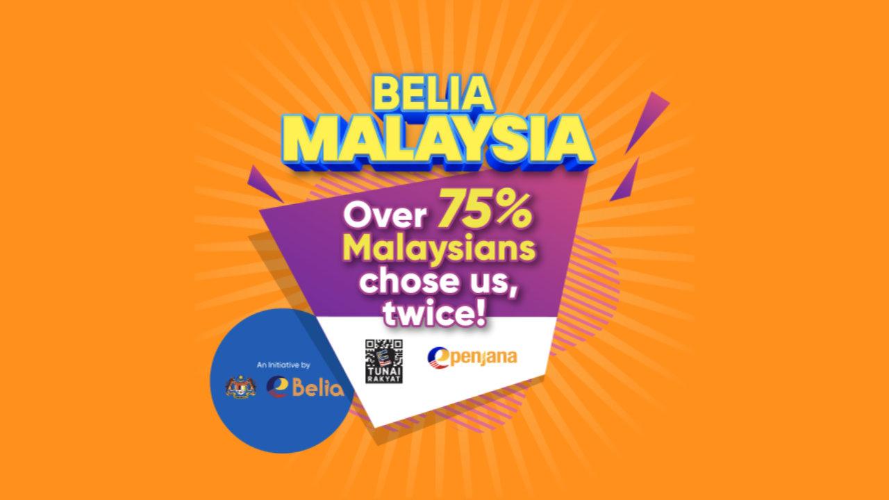 Cara Tebus eBelia RM150 Menggunakan Touch 'n Go eWallet