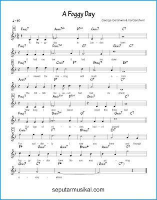 A Foggy Day chords jazz standar