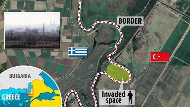 Τούρκοι κατέλαβαν ελληνικό έδαφος στον Έβρο