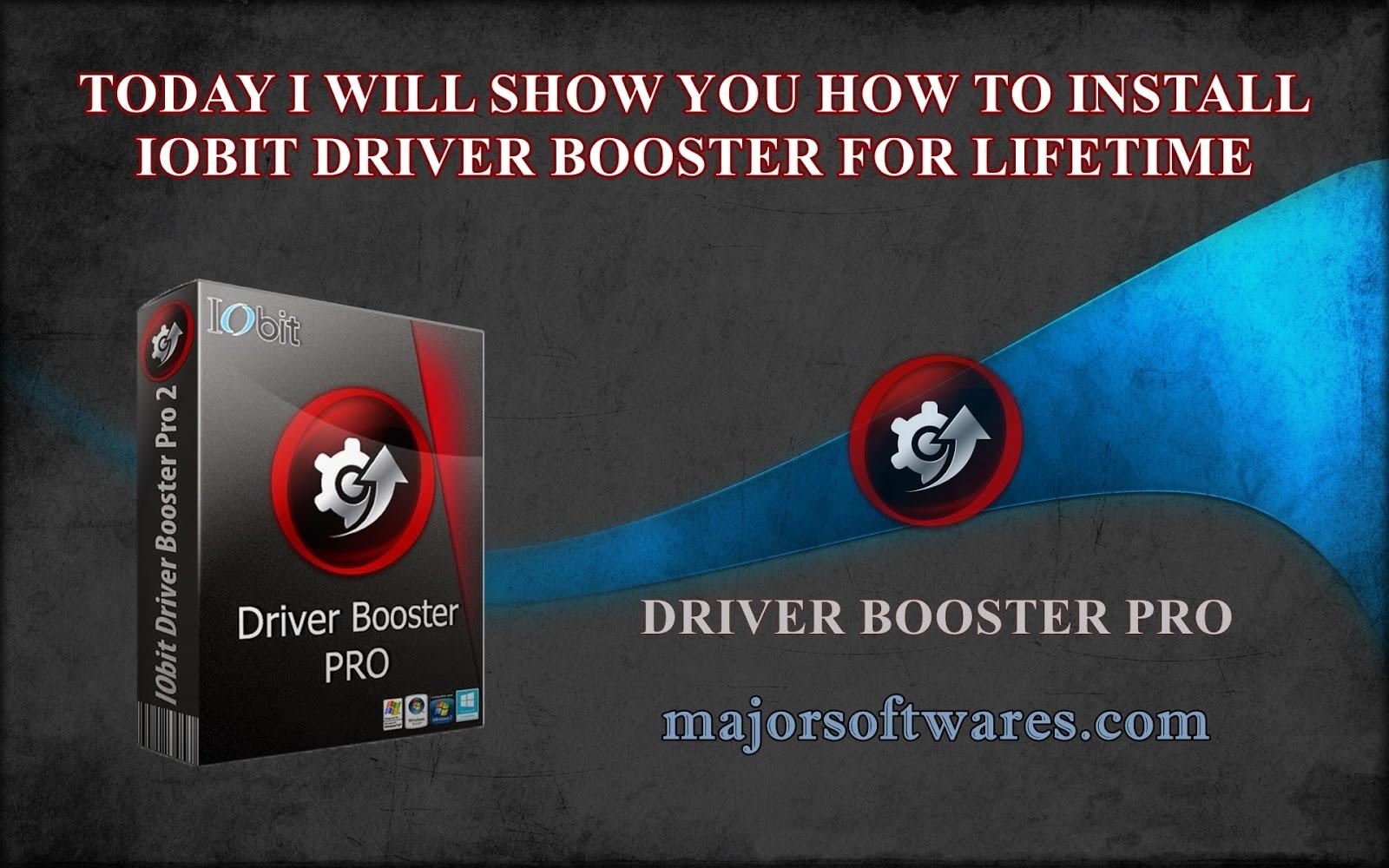 driver booster com serial 2017