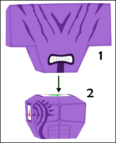 faceless void's torso and head