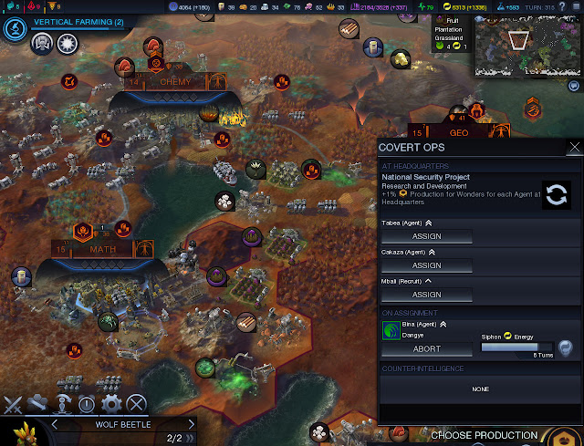 Civilization: Beyond Earth  | Covert Ops Screenshot