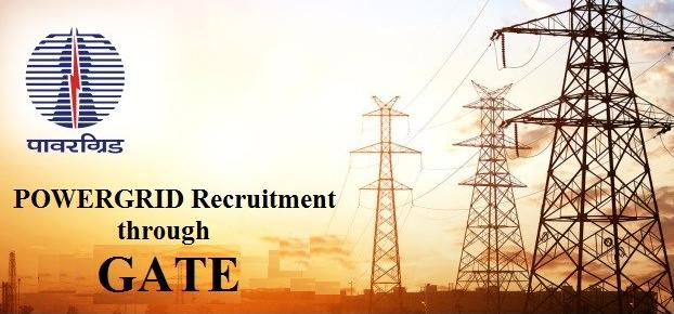 PGCIL Recruitment Through GATE 2019