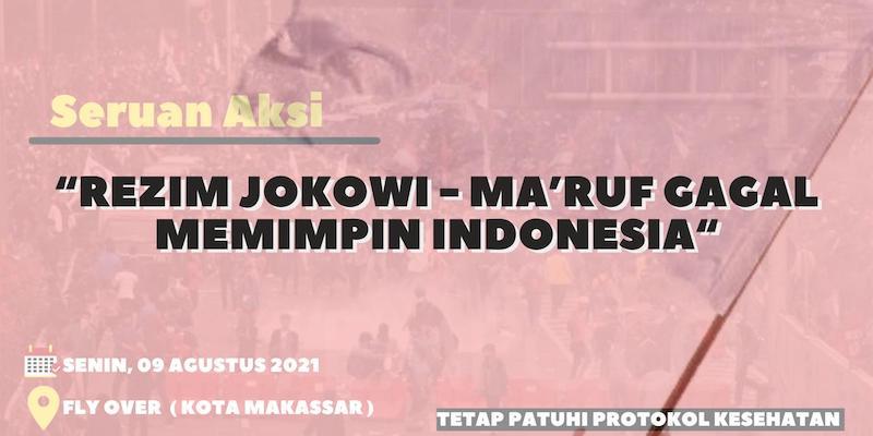 Anggap Jokowi-Ma'ruf Gagal Pimpin Indonesia, Kelompok Pemuda Makassar Gelar Aksi 'Kibar Bendera Putih'