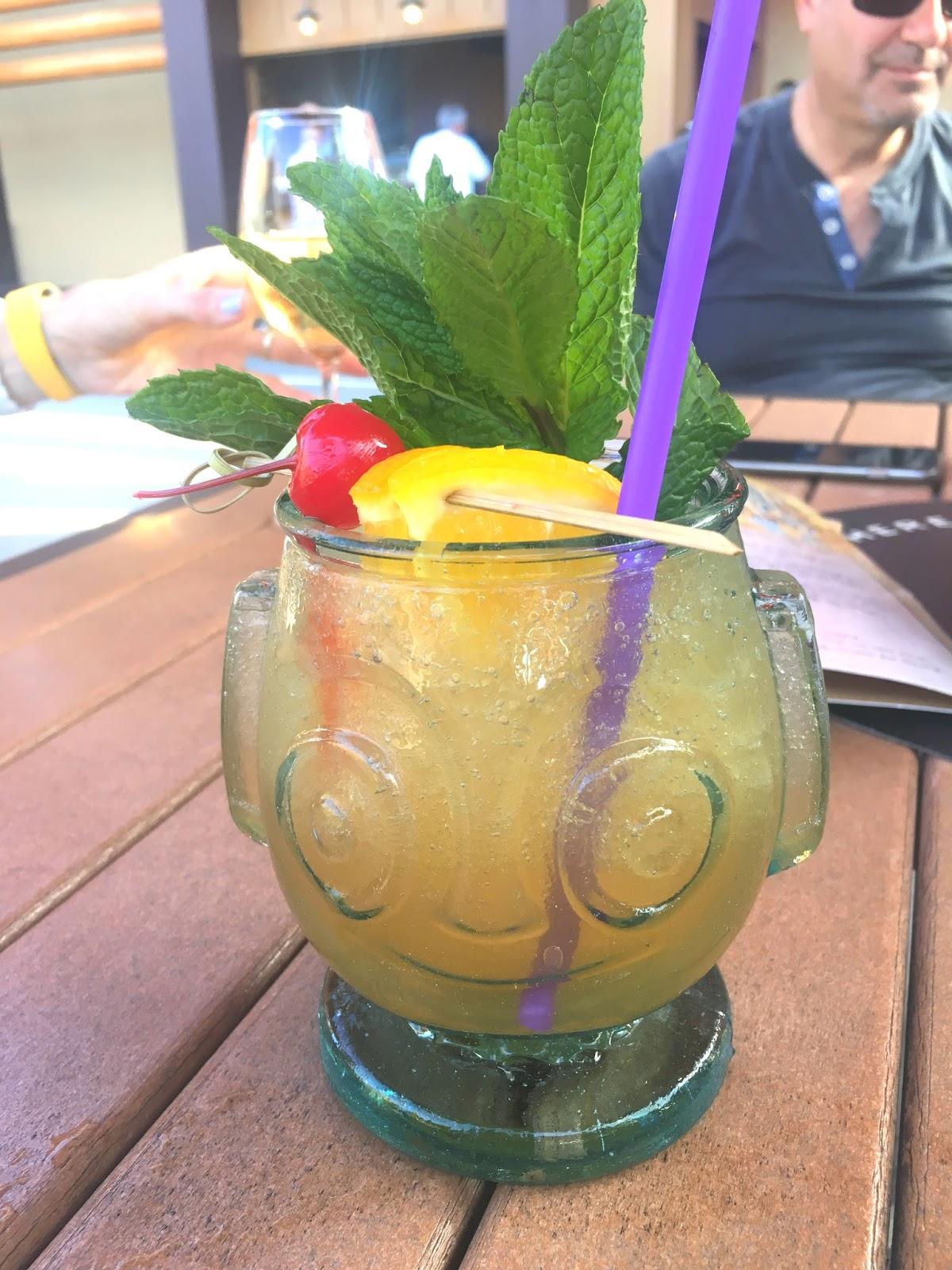 drink at Trader Sam's in Disney World, Florida