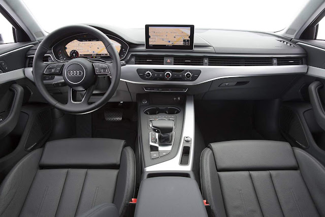 Audi A4 Avabt 2017 - interior - painel
