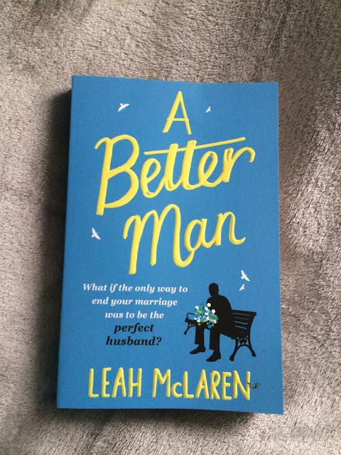 copy of paperback book A better Man by Leah Mclaren
