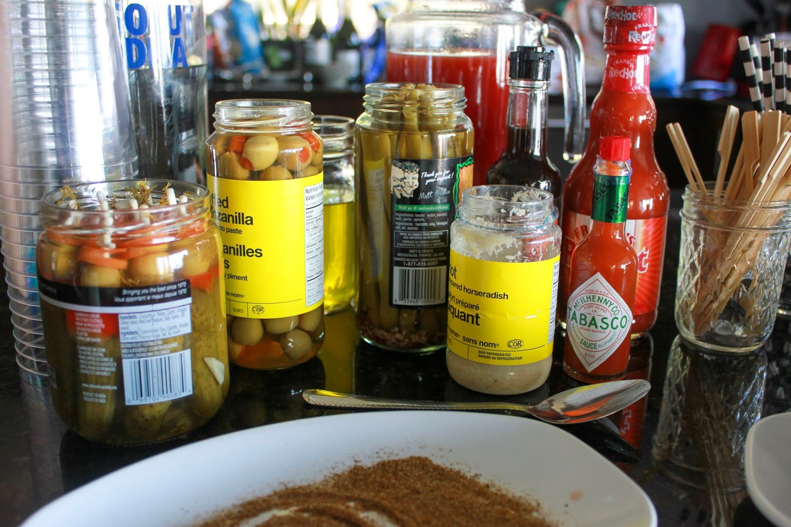 build it yourself caesar bar ingredients