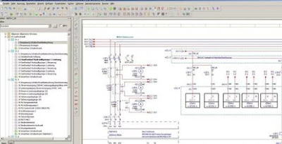 CAD working window EPLAN Electriс Р8