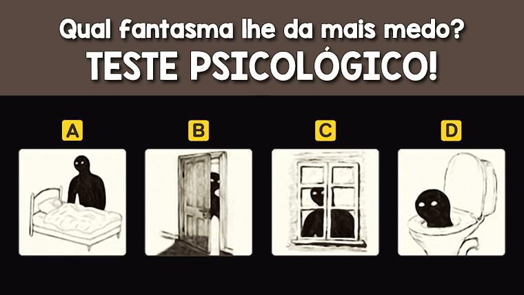 Teste psicológico: Quais são os seus medos?