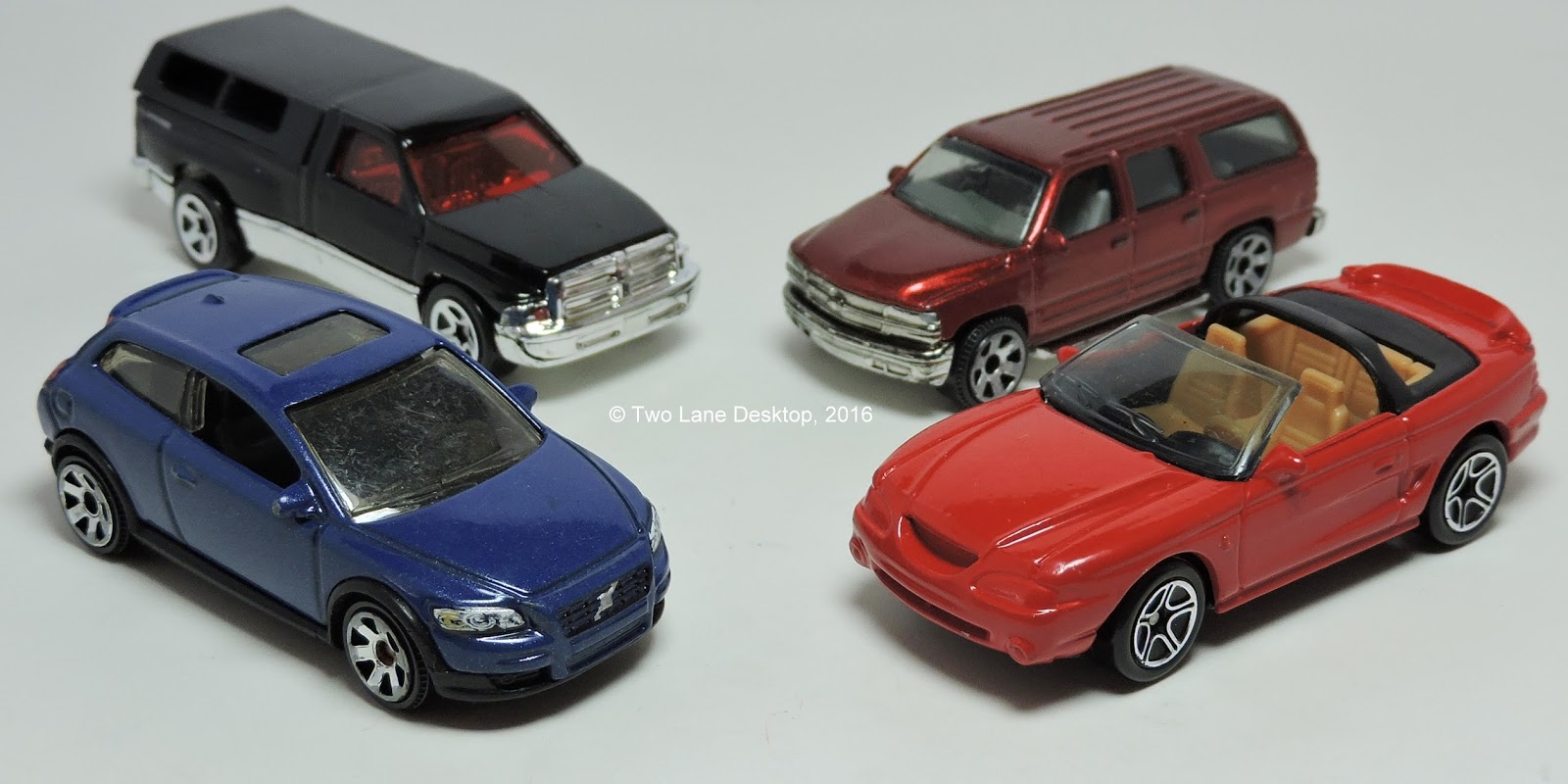 Two Lane Desktop: Quick Look: 4 Matchbox/Hot Wheels used cars