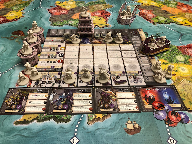 Heroes of Land, Air & Sea Gamelyn Games Order and Chaos Expansion Undead Faction; Photo by Benjamin Kocher 2020