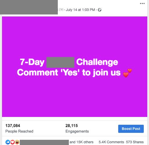 إنشاء منشور على فيسبوك