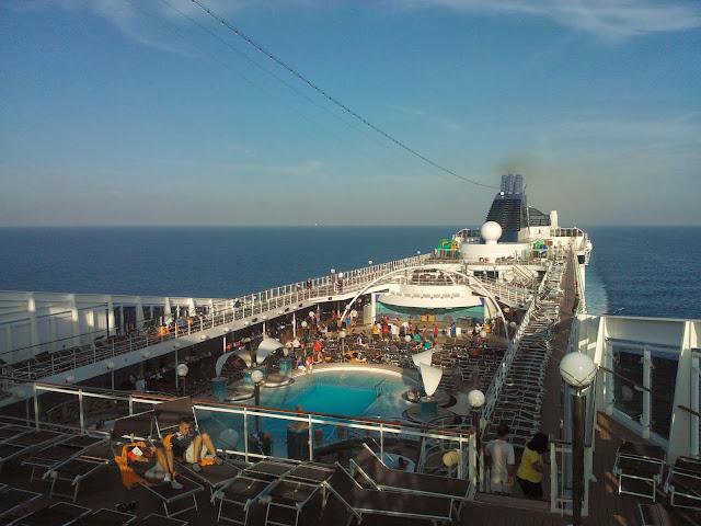 Diario de um cruzeiro transatlântico: primeiros dias