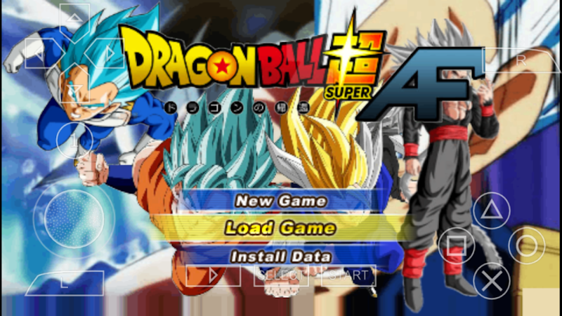 Dragon Ball Super AF Tenkaichi Tag Team Mod Permanent Menu Download
